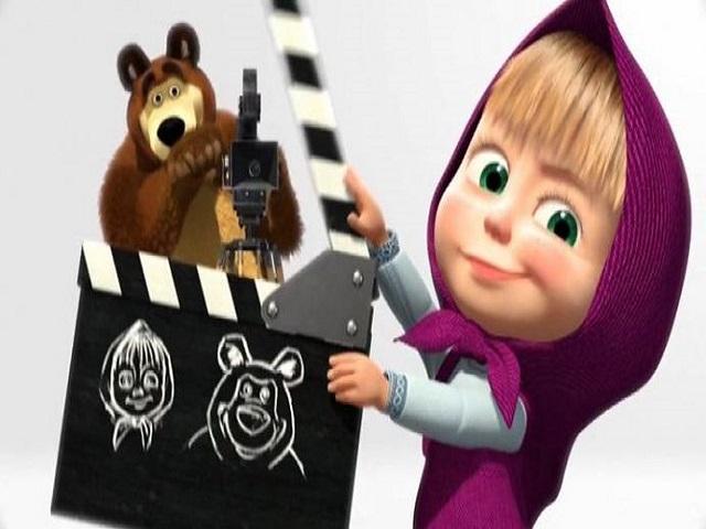 Masha e orso a natale al cinema il trailer tratto rosa