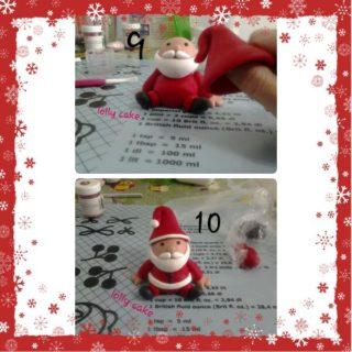 Christmas Cake Design: Babbo Natale