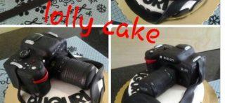 Cake Design: Torta macchina fotografica.