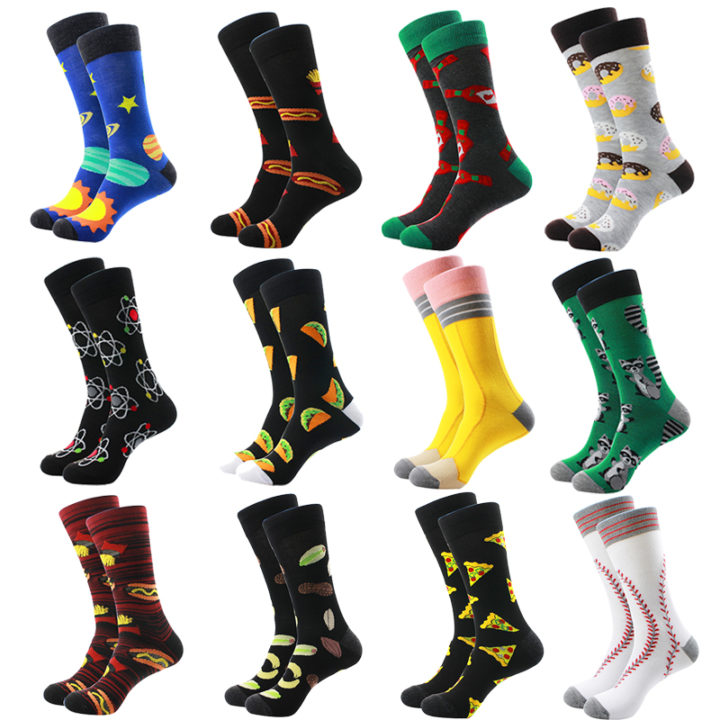 mens-font-b-fashion-b-font-cotton-leisure-socks-colorful-donuts-odd-font-b-future-b