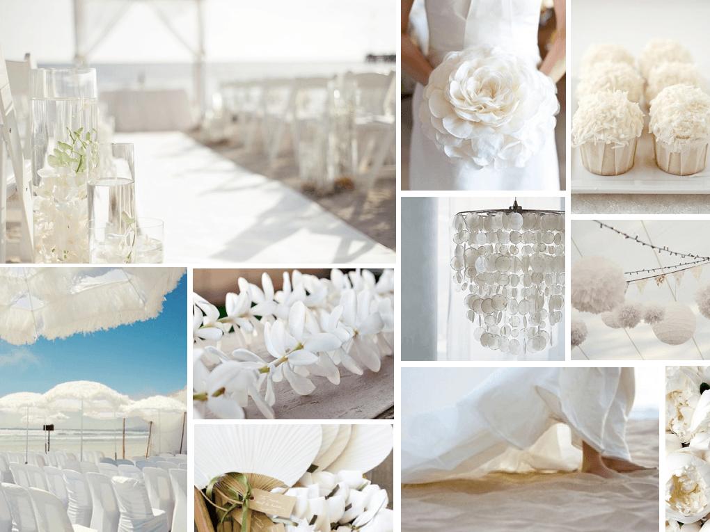 Tema Matrimonio Total White : I consigli della wedding planner per un matrimonio total
