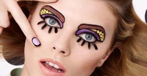 Solo make up per carnevale.