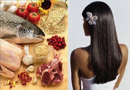 Maschera per capelli con glicerina e olio di ricino e vitamina A