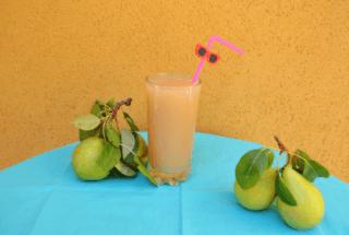 Succo di frutta alla pera: ricetta!