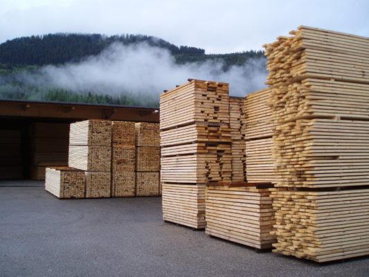 legno in val di fiemme