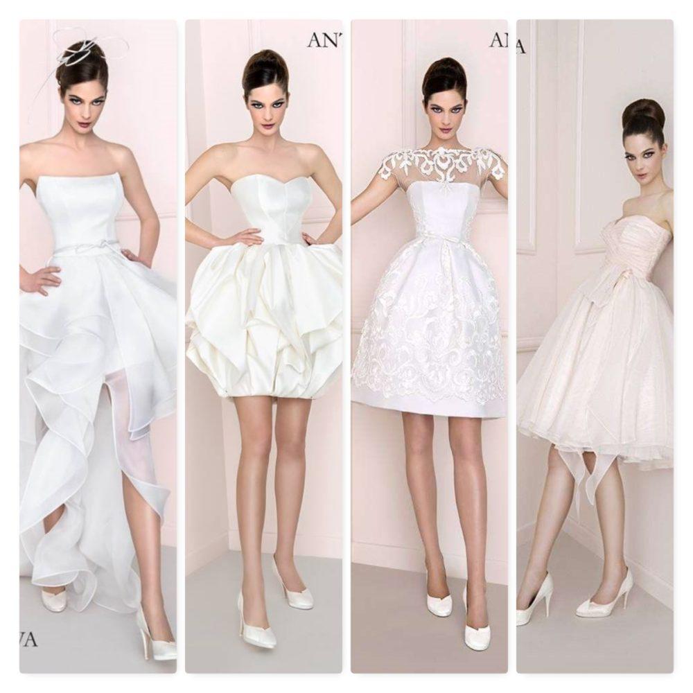 1b6a8500696c Una sposa in corto  l abito su misura per voi.