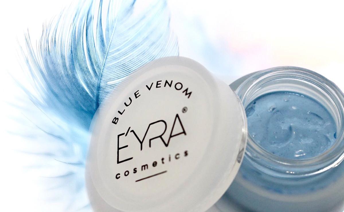 Crema blu a base di veleni: la più innovativa sul mercato.