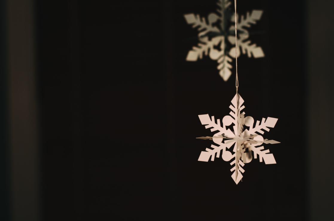addobbi natalizi di carta