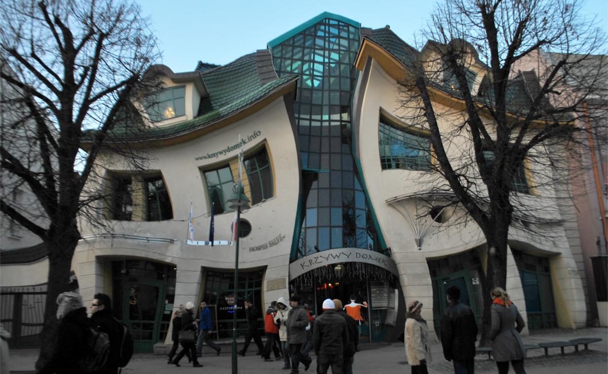 Gli edifici più strani al mondo