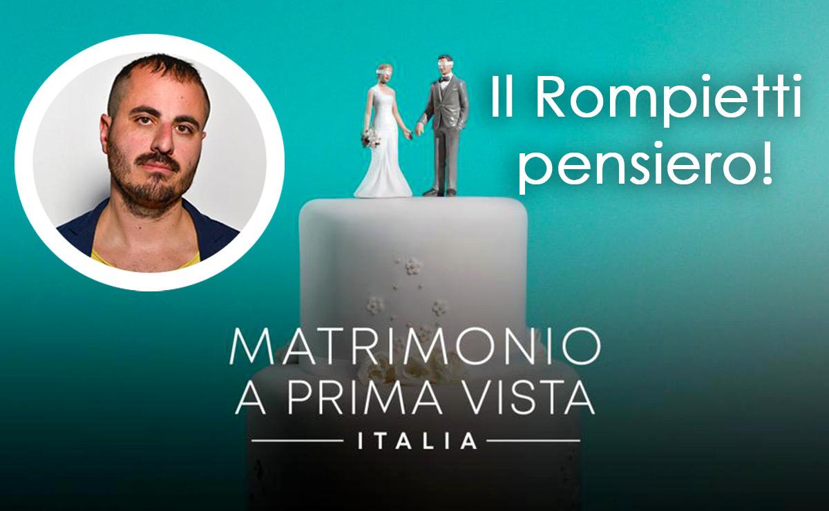 Marco Rompietti matrimonio a prima vista