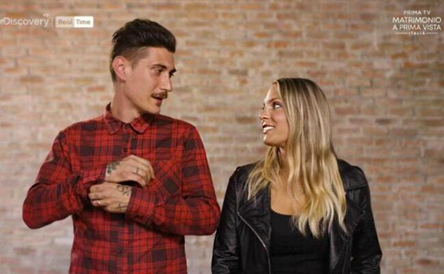 Giorgia e Luca matrimonio a prima vista