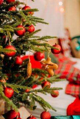 albero di Natale green
